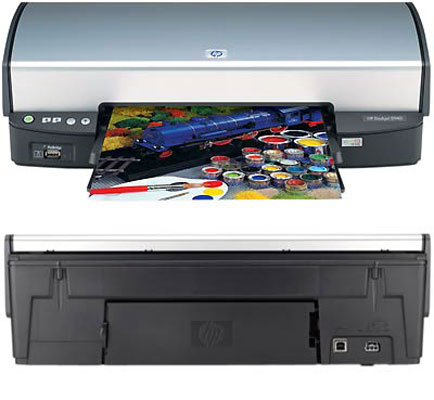 Impressora Deskjet 5940 com Resolução de até 1200 x 1200dpi