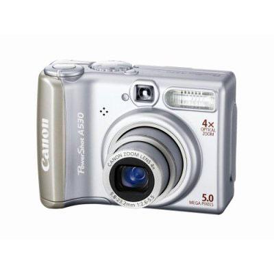Câmera Digital 5.0 Megapixels A530 Canon - Zoom Óptico 4x