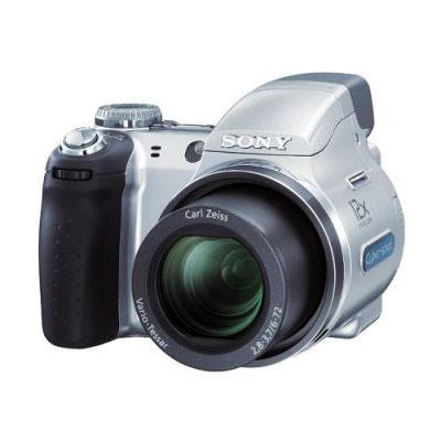 Câmera Digital 7.2 MP Cyber-Shot DSC-H5 Sony - Zoom Óptico 12x L