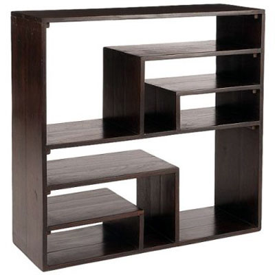 Sheesham Wood Modern Shelves