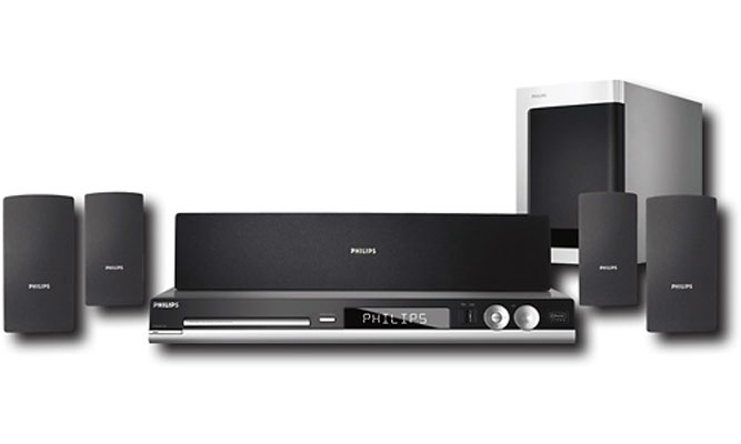 Home Theater 5.1 1000W RMS c/ HDMI, DivX e Rádio AM/FM HTS3450 P