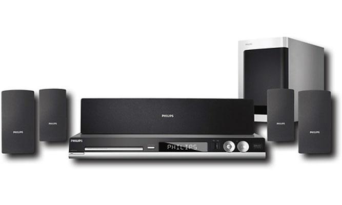 Home Theater 5.1 1000W RMS c/ HDMI, DivX e Rádio AM/FM HTS3450 P