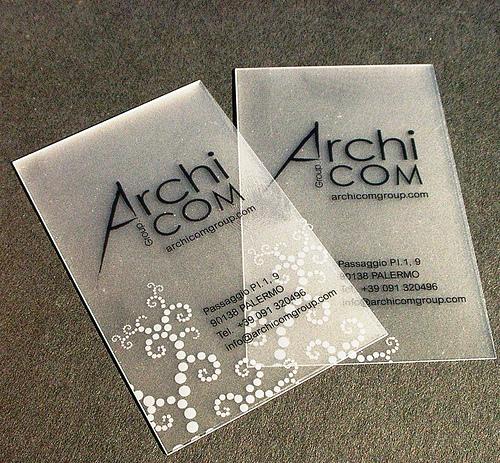 Cartões PVC Branco 0,3mm - 8,5x5,4 cm - 4x0